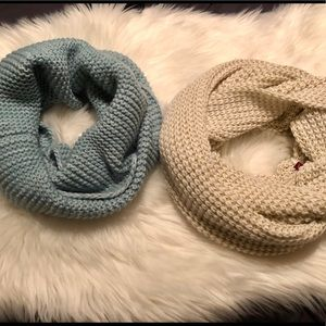 Accessories - Knit Infinity Scarf Knit Scarves